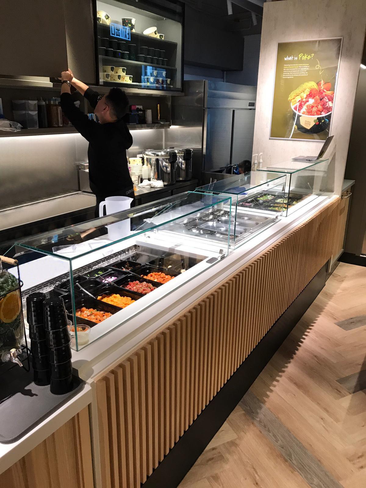 FRESCO vitrinas selfservice, servery counters, display