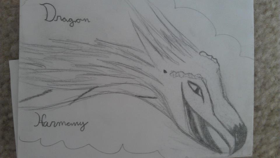 a sketch i threw together! :) I love dragons! WOO! :)