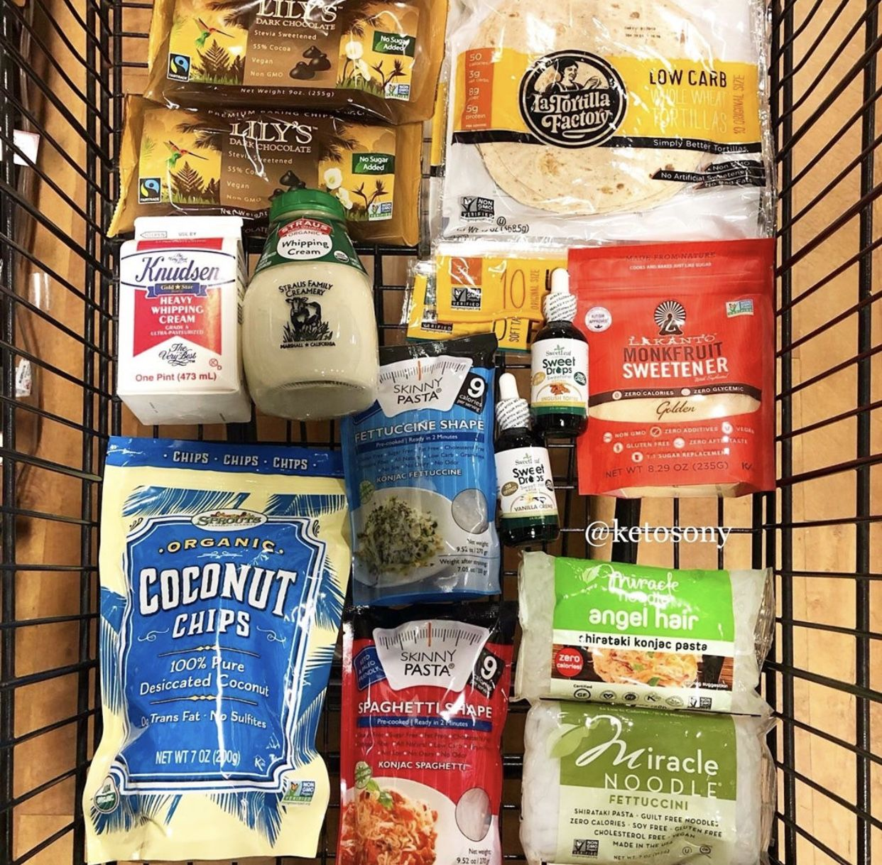 Sprouts Keto Grocery Haul Skinny Pasta Miracle Noodles Keto