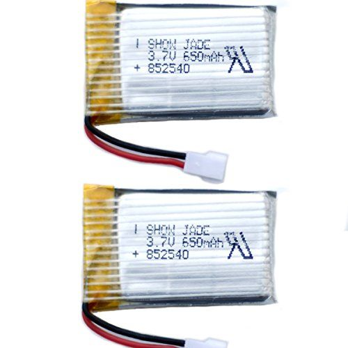 Hyf Stone Lipo Battery 3 7v 380mah 25c With 5in1 Battery: Holy Stone 3.7V 650mAh Lipo Battery For RC Quadcopter