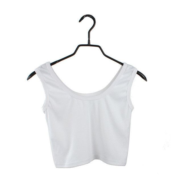 Jinggton oval Women Tight Crop Top Skinny O-Neck T-Shirts Dance Short Vest free shipping &wholesales A