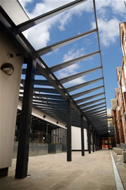 Able Canopies Were Commissioned By Bouygues Uk Ltd To