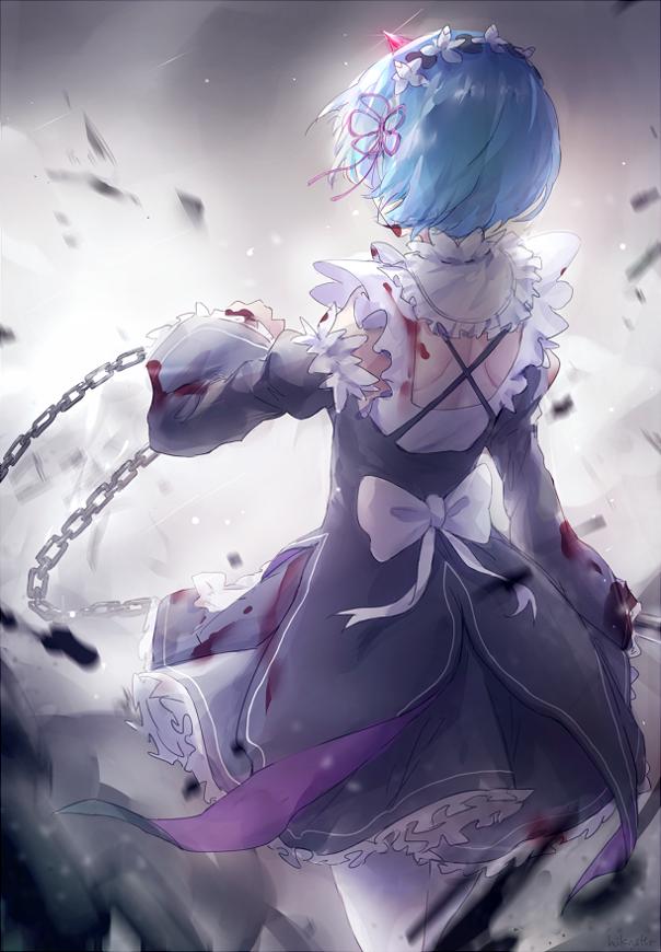 rezero kara hajimeru isekai seikatsu, ReZero, rem anime