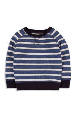 Blue Grindle Stripe Jumper