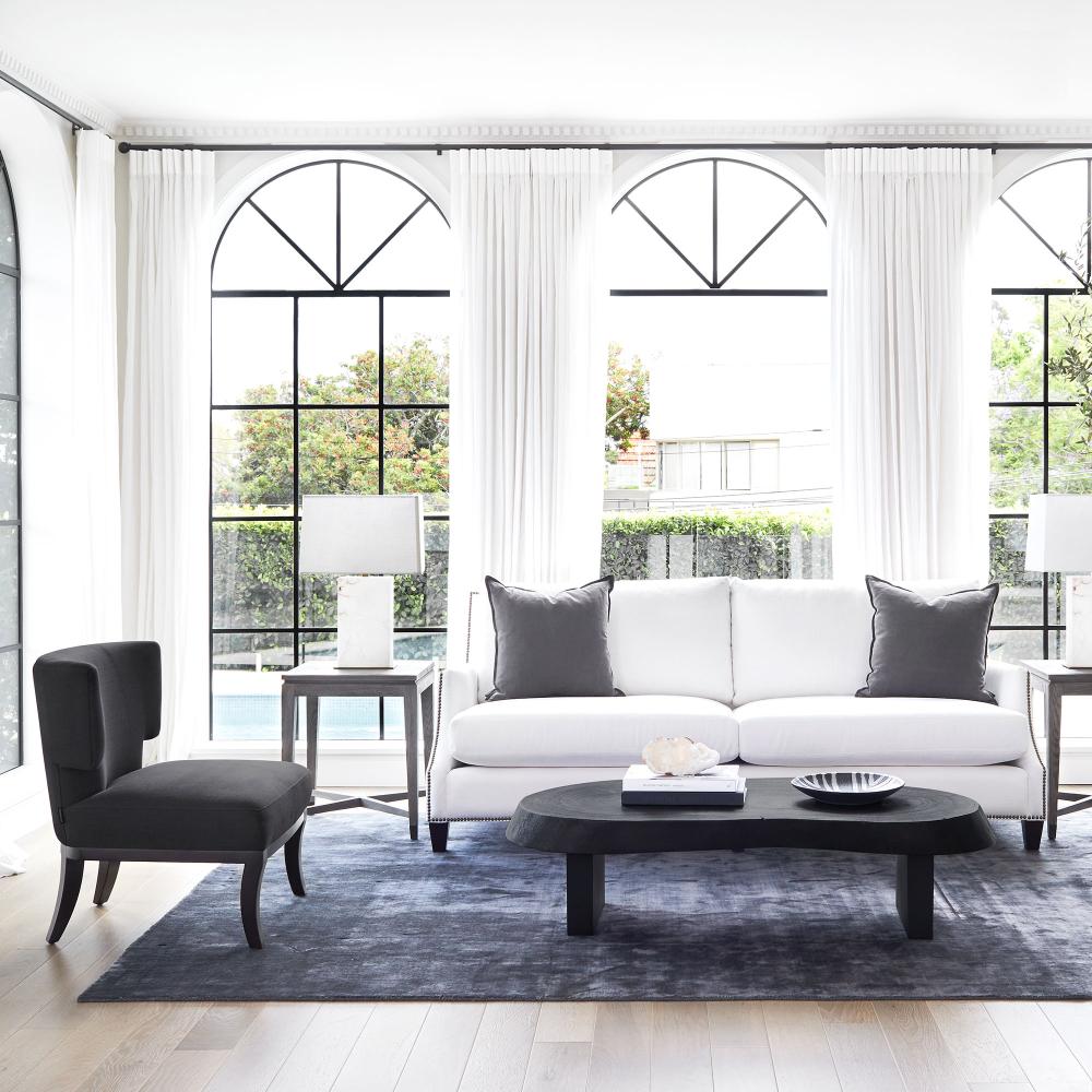 Living Room Staging Ideas: Marais Burnt Teak Coffee Table In 2020