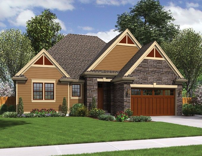 Traditional Style House Plan 3 Beds 2 Baths 1624 Sq Ft Plan 48 596 Craftsman House Plans Craftsman Floor Plans House Plans