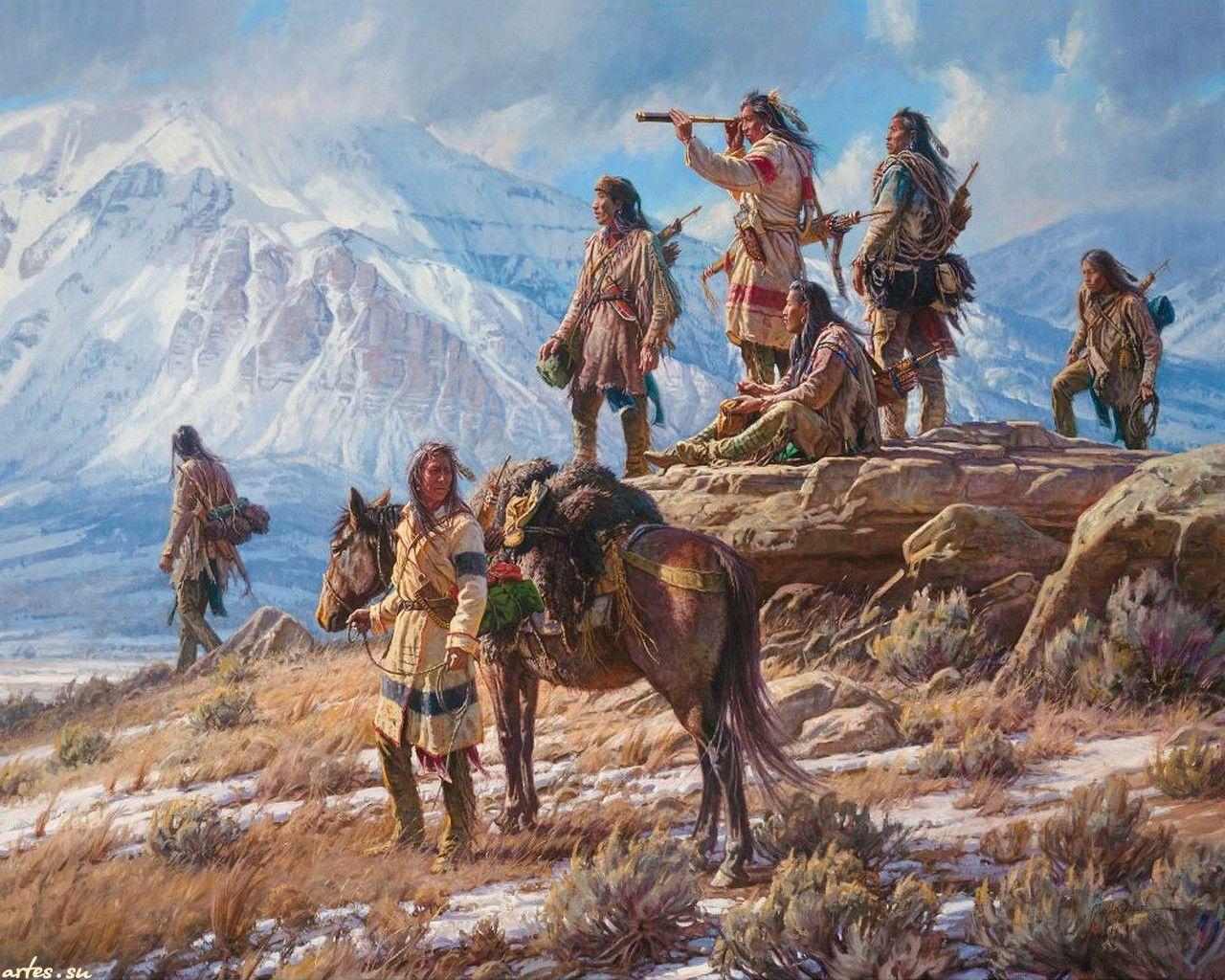 смело обои на рабочий стол индейцы северной америки одна немногих