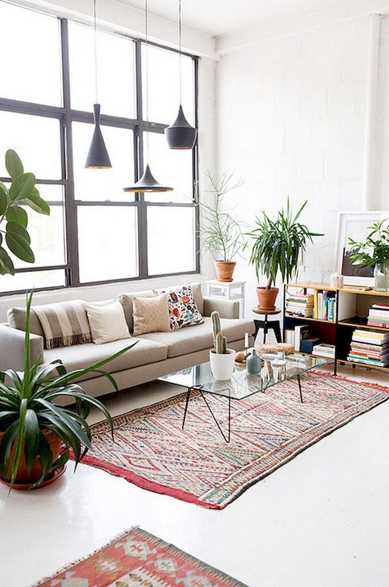 10+ Gorgeous Urban Bohemian Living Room Ideas #livingroomideas