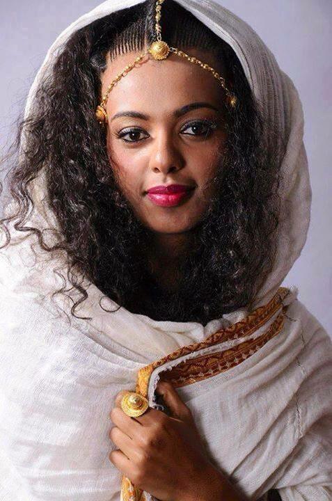 ethiopian hair style fotografia