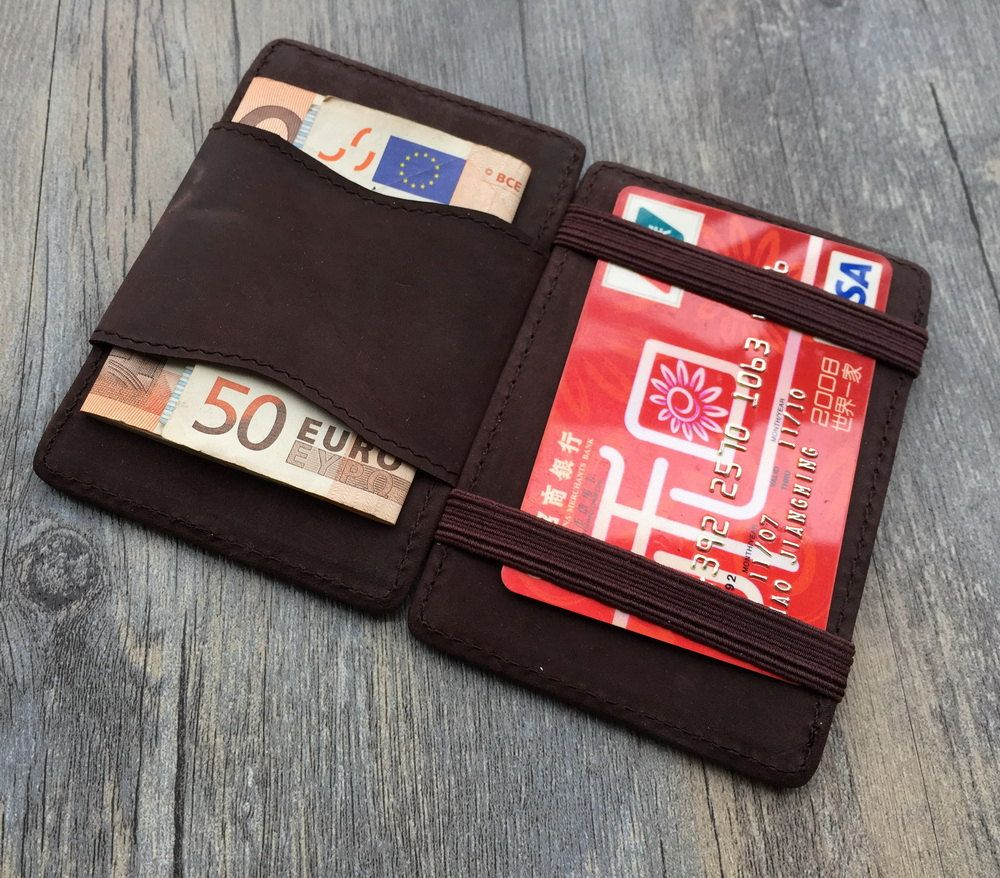 Custom christmas gifts,Initial magic card holder,business card cases ...