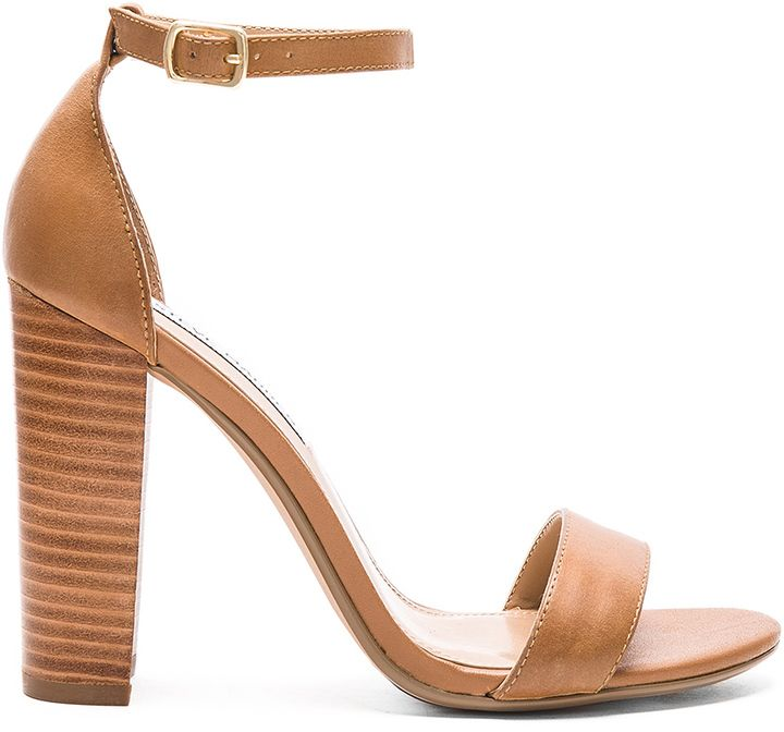 44a1a531c Cute tan sandals with block heel for Spring