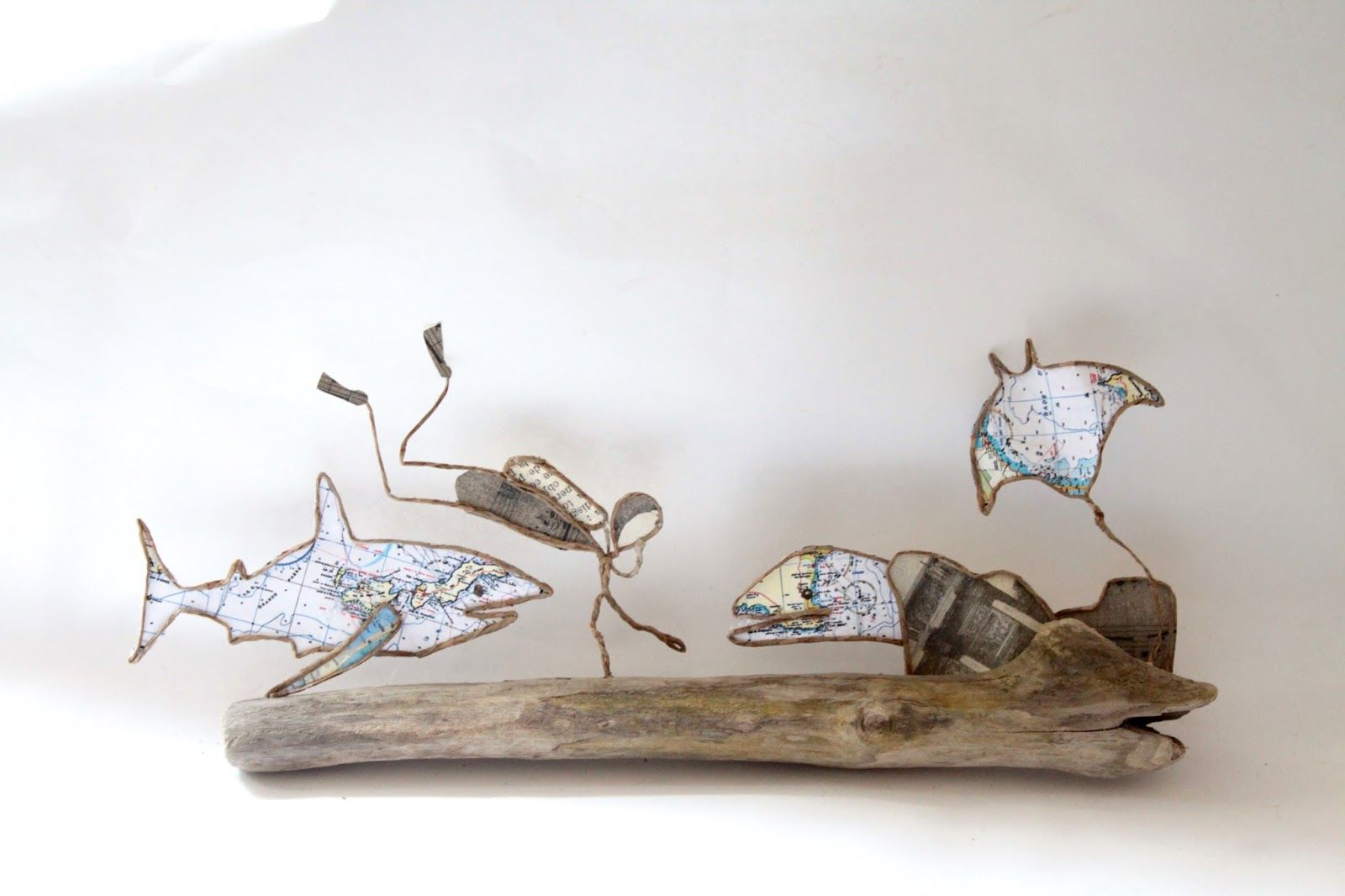 Epistyle: Sous la mer | Papierdrahtfiguren | Pinterest ...