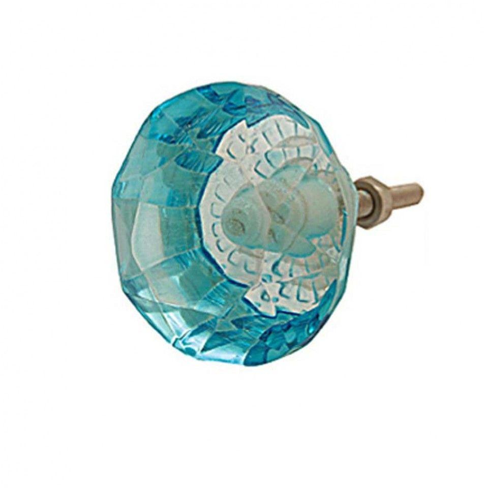 Duck egg blue coloured glass door knob | Pinky | Pinterest | Glass ...