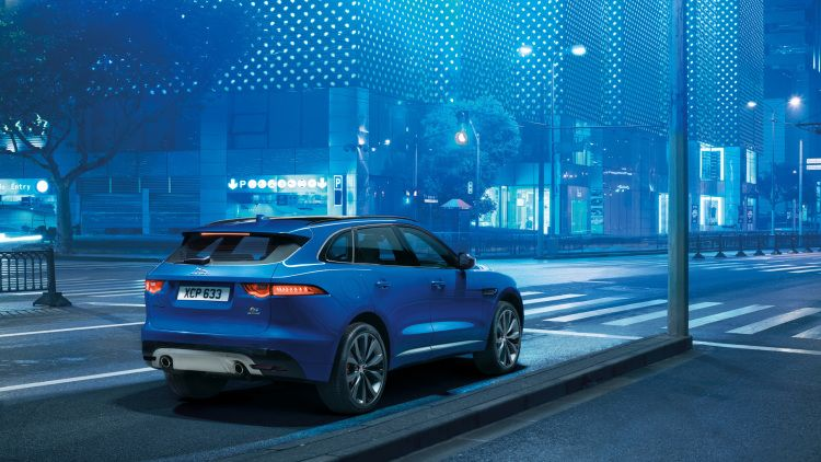 Jaguar F Pace Leaps Into Crossover Segment Update Jaguar Car