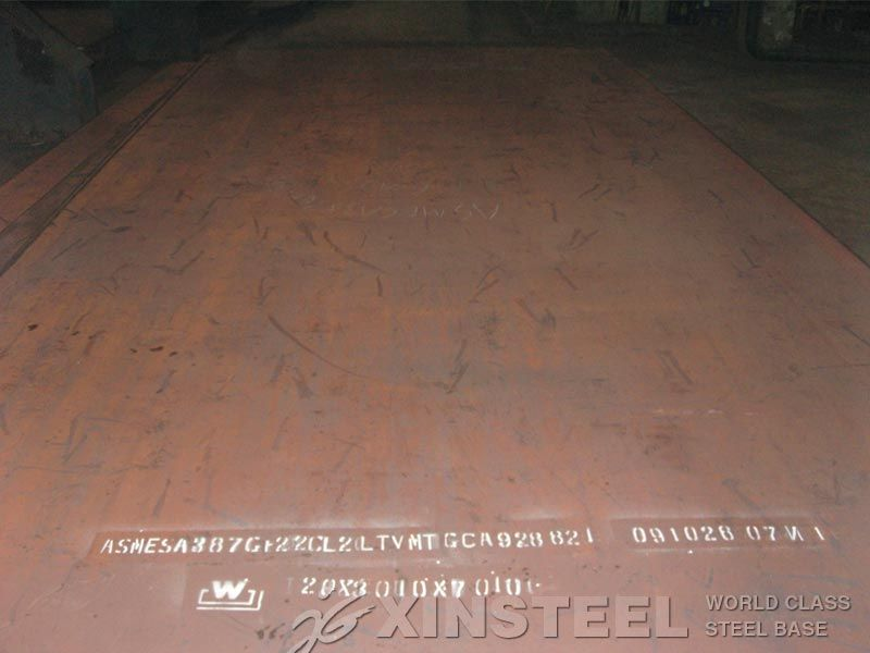 A387gr22cl2 Boiler Steel Plate Is Under Steel Standard Specification Astm A 387 A 387m For Pressure Vessel Steel Plates With Alloy Cr And Mo Xinsteel Offer Dif
