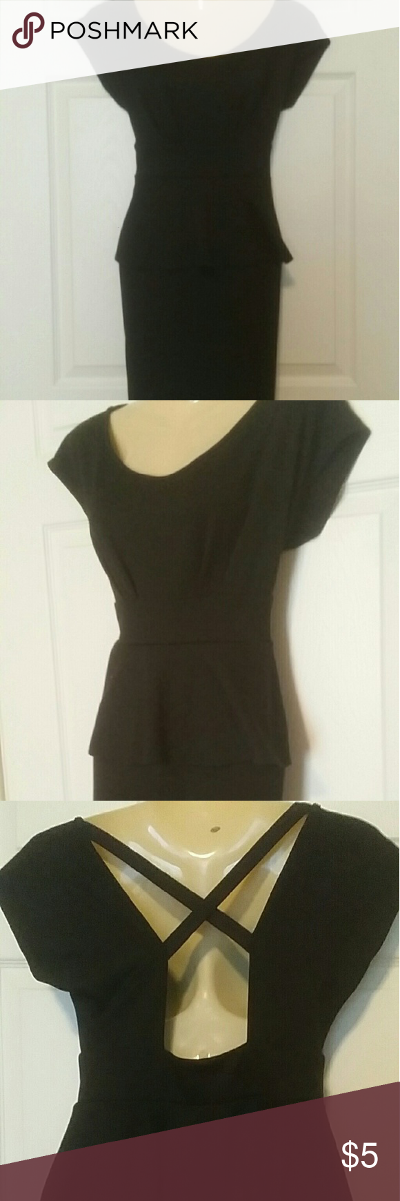 Wet Seal Black business look dress