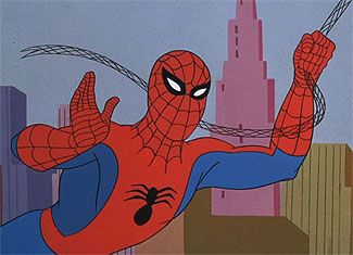The original Spiderman cartoon in the late 60's. Remember the theme