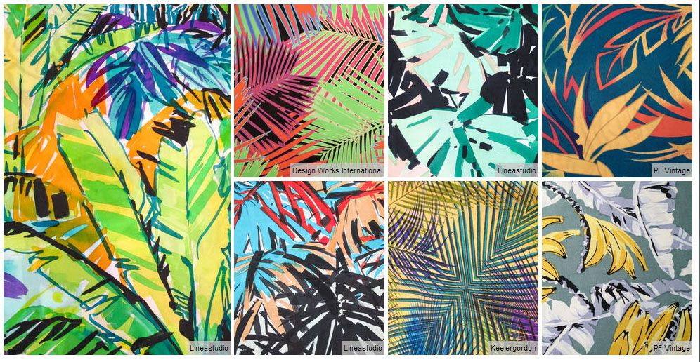Stylesight - tropical leaves