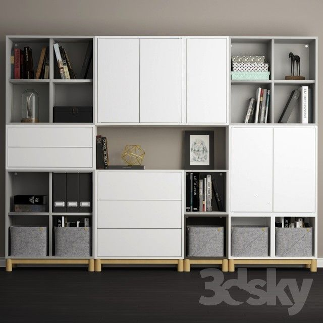 models: Other - The combination of cabinets with legs Ikea Eket.,  ... 3d models: Other - The combi