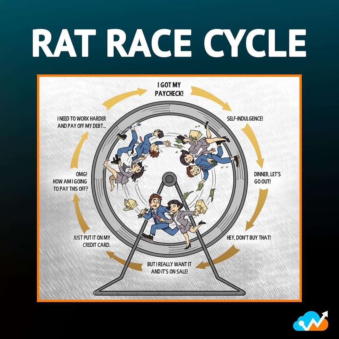 Are you still stuck in the rat race? This is the worst