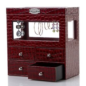 Hsn Jewelry Boxes Classy Colleen's Prestige™ Dangle Earrings Jewelry Box At Hsn Inspiration