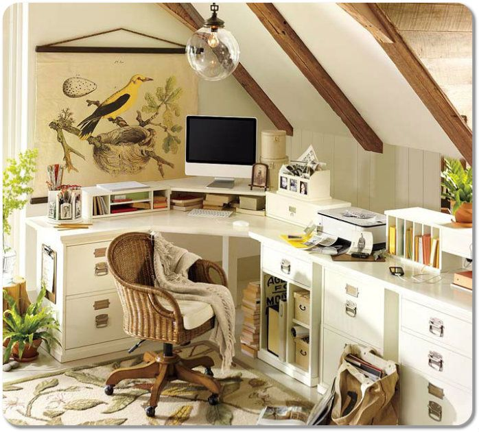 Cozy Home Office Design. Customize Your Home Office For Comfort. #office