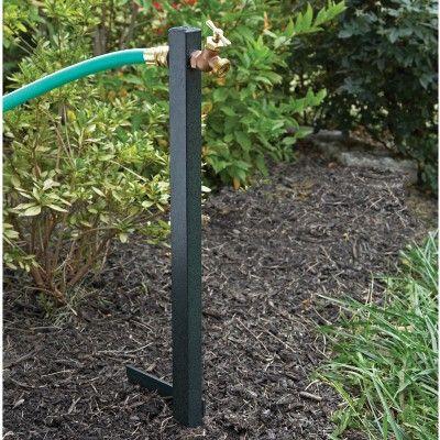 Hose Faucet Extender Sloped Garden Backyard Trampoline Garden Beds