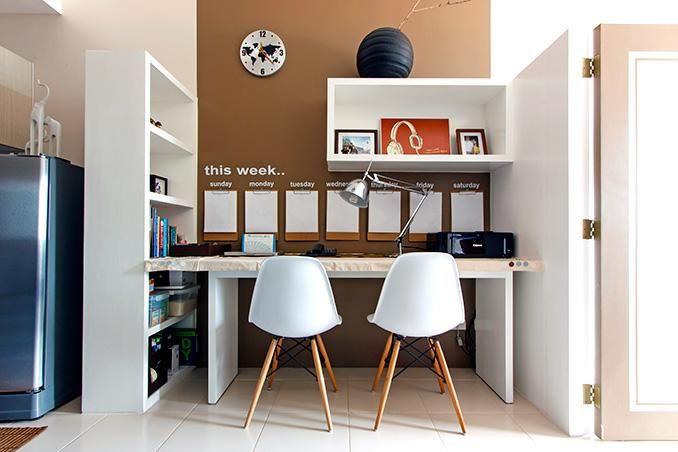 5 Decor Ideas For Your Office Desk Condo Interior Design Condo