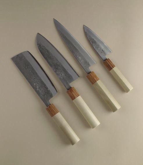 Japanese kitchen knives coltelli da cucina giapponesi forged chefs knives cuchillos de - Coltelli giapponesi da cucina ...