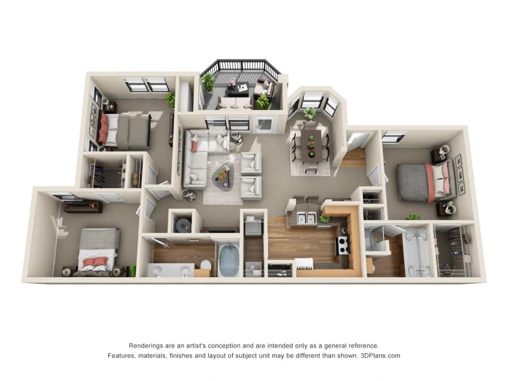 Floor Plans Of The Verandah At Grandview Hills In Austin Tx Floor Plans Floor Plan Design Apartment Layout