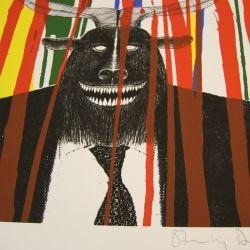 'El Chupacabre' by Radiohead artist Stanley Donwood