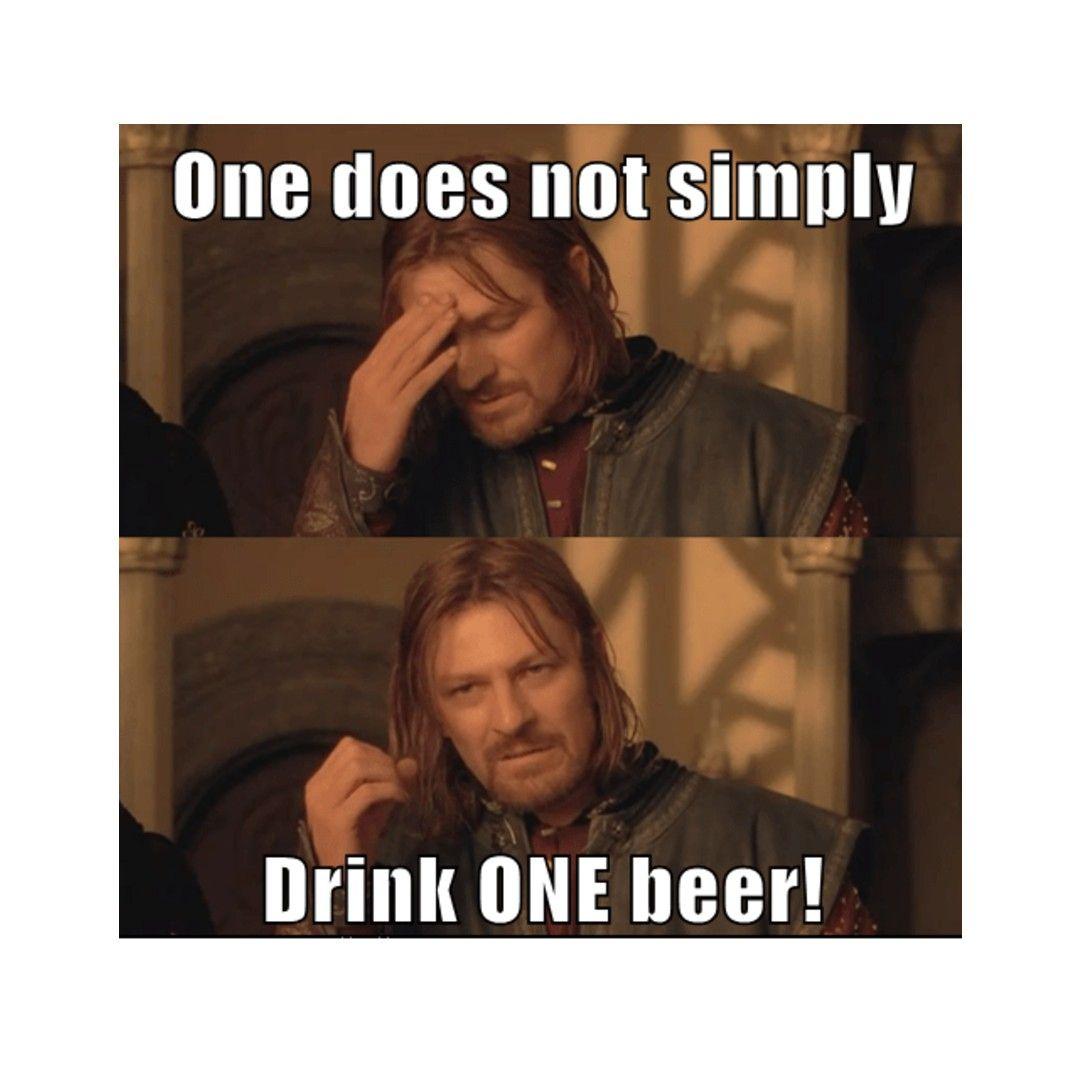 Maybe Two Is Good Enough Beer Humor Beer Memes Drinking Beer [ 1080 x 1080 Pixel ]