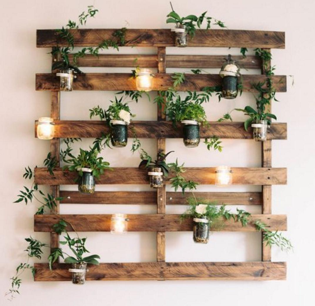 Palets para decorar plantas | Ideas para el hogar | Pinterest ...