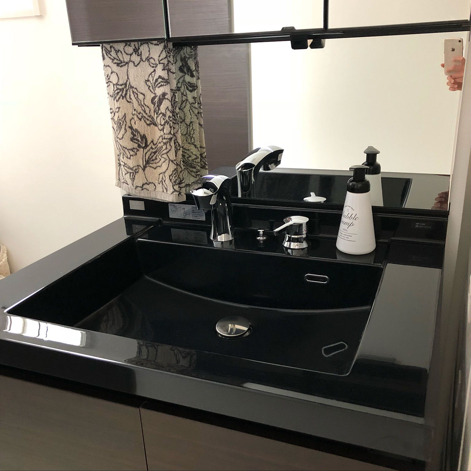 ルミシス洗面台 ルミシス リクシル 洗面所のインテリア実例 2018 02 14 16 55 01 Roomclip ルームクリップ 洗面台 洗面所 インテリア