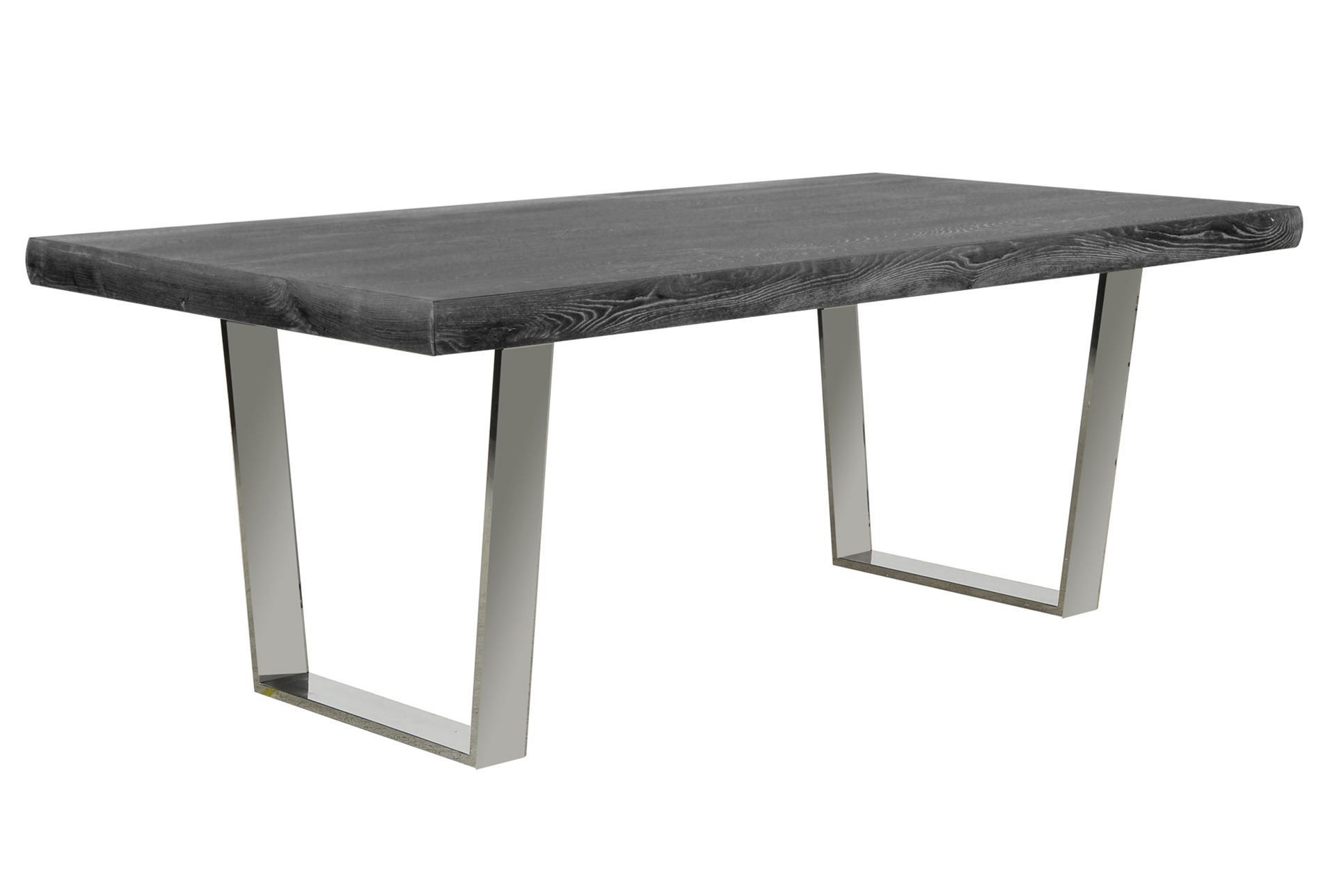 Delightful Bateau Grey Dining Table
