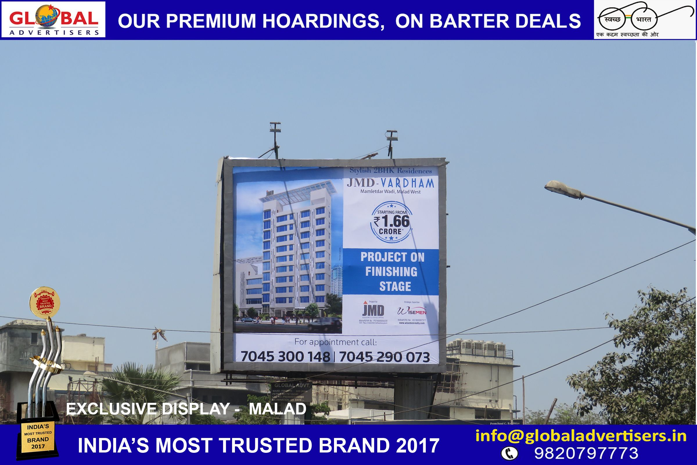 Hoarding Railway Bus Shelter Advertising Mumbai Billboard