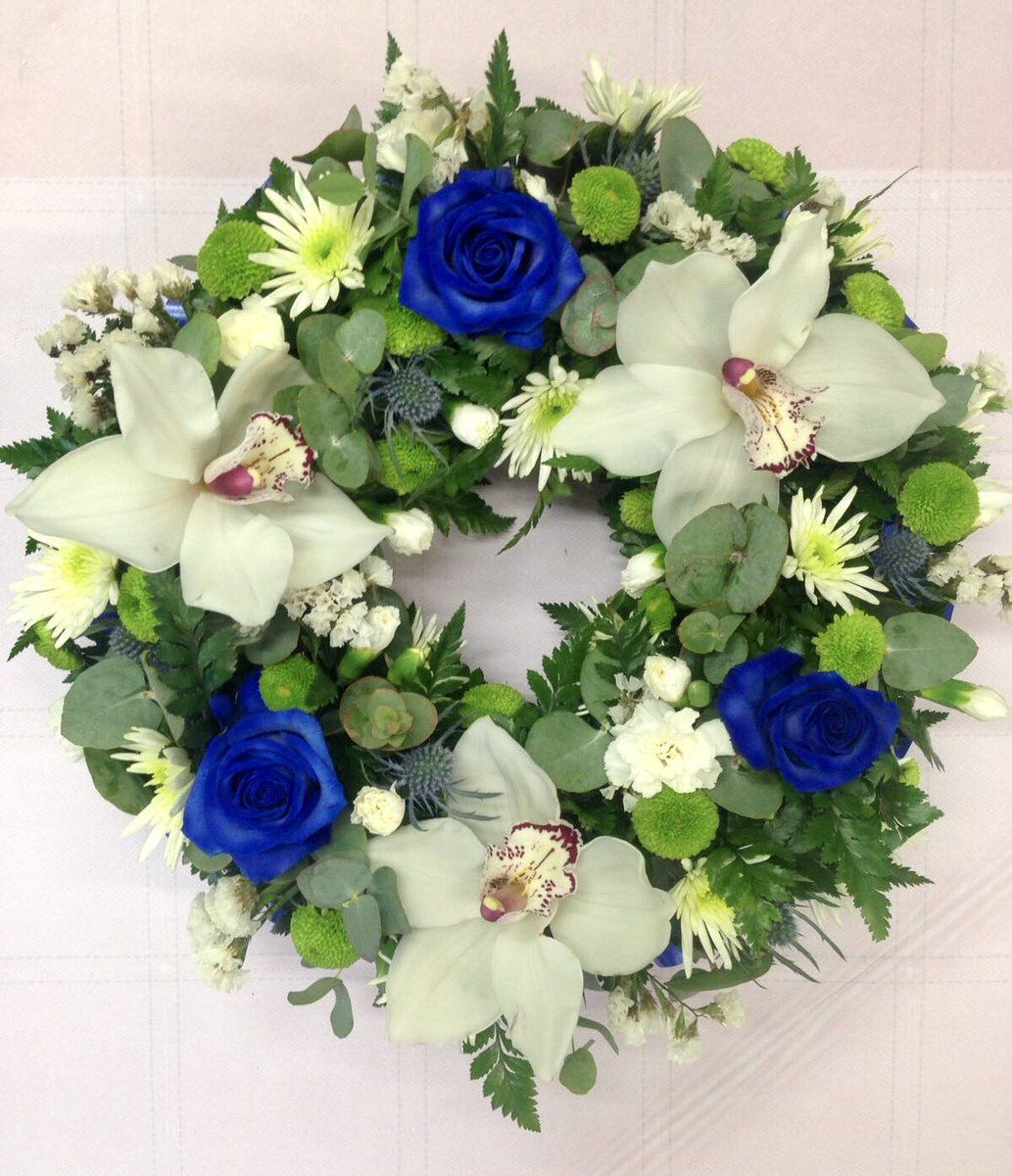 Beautiful Floral Tribute By Rosepetals Florist Of Hinckley Funeral Flowers Florist Floral