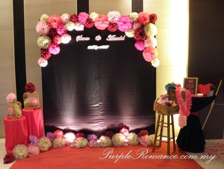 A Webpage On Wedding Decoration And Photo Booth Services At Kuala Lumpur Malaysia