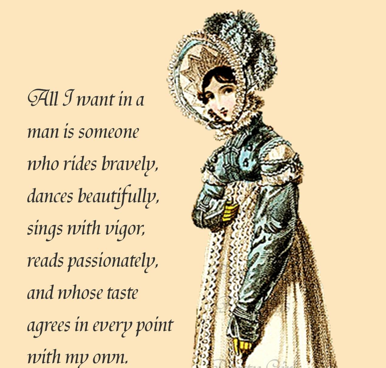 "Quotes Jane Austen Jane Austen Quotes  ""all I Want In A Man Is Someone Who Rides"