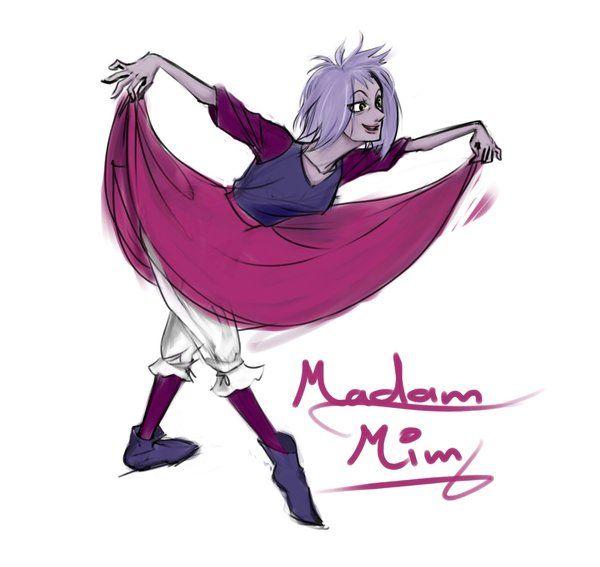 Sexy madam mim