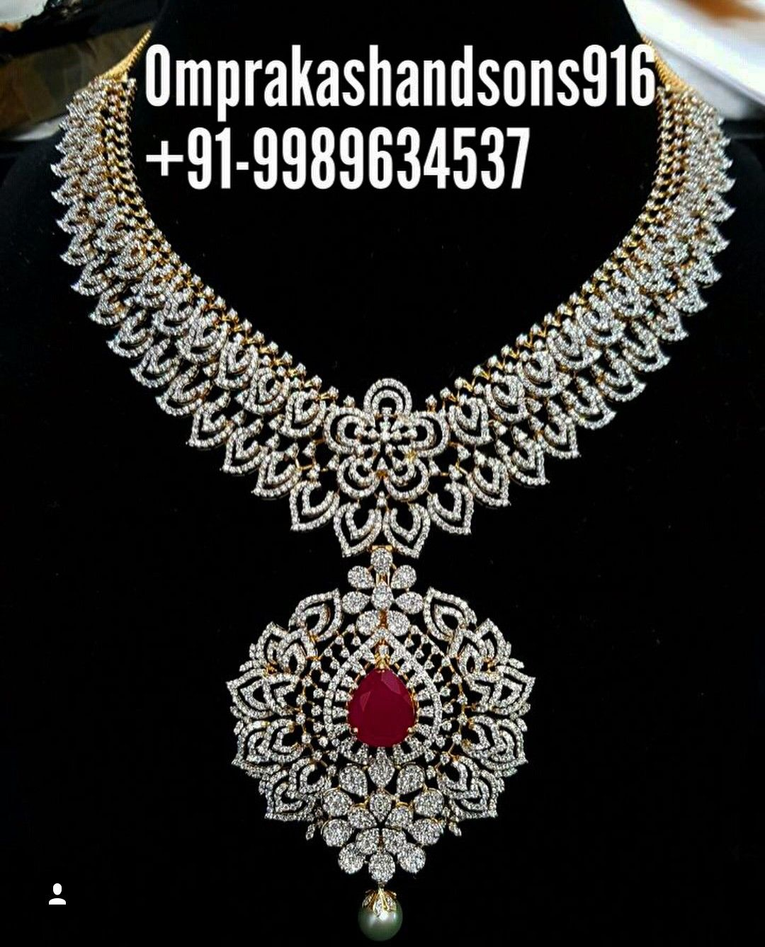 Saved by radha reddy garisa necklace set pinterest jewel