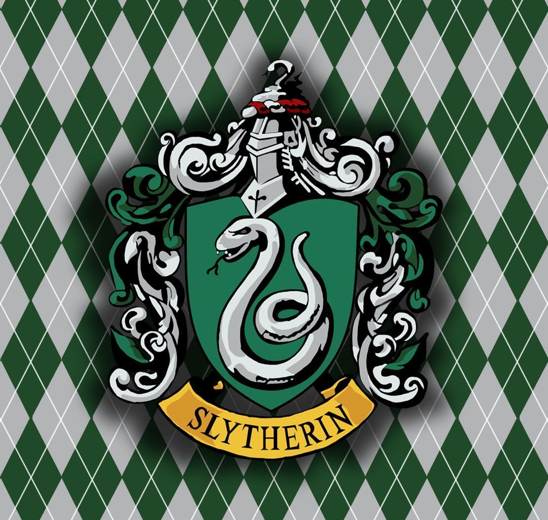 Logo Slytherin Wallpaper Harry potter quiz, Harry potter