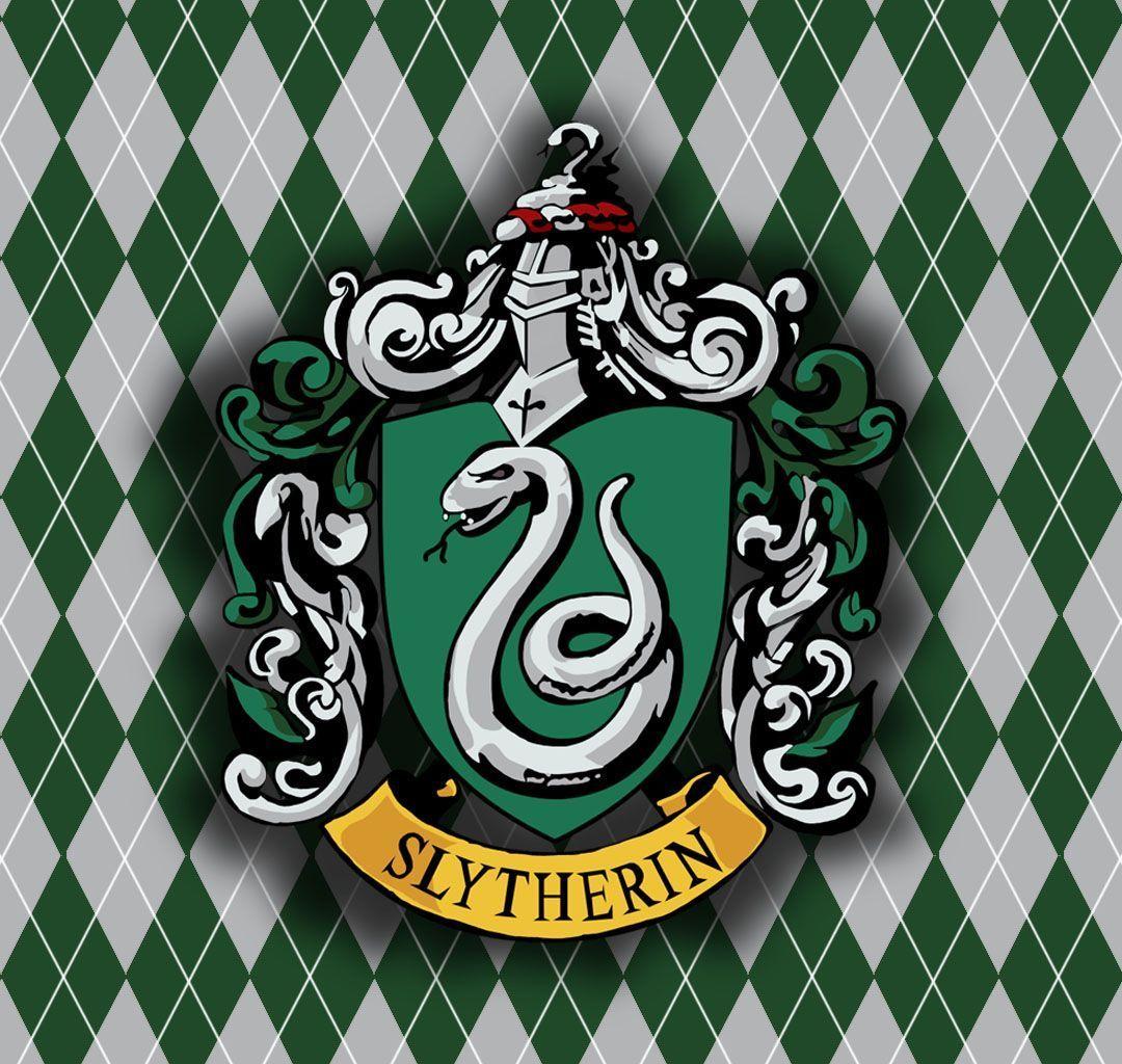 Logo Slytherin Wallpaper Harry potter quiz, Harry potter