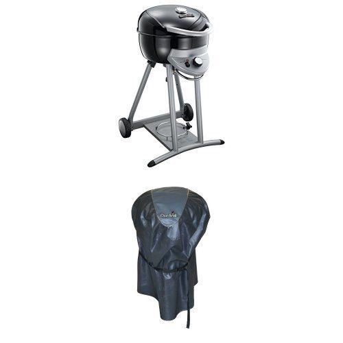 Char Broil TRU Infrared Patio Bistro Gas Grill, Black