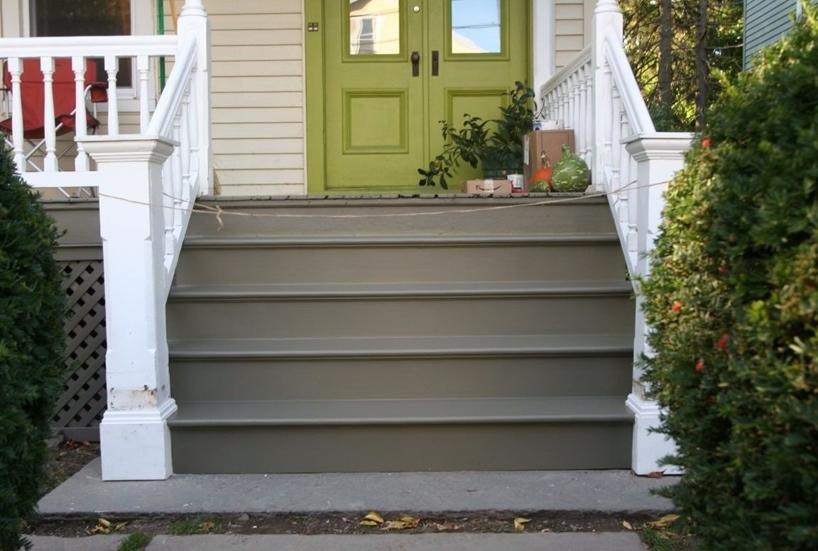 how to repaint a deck step by step