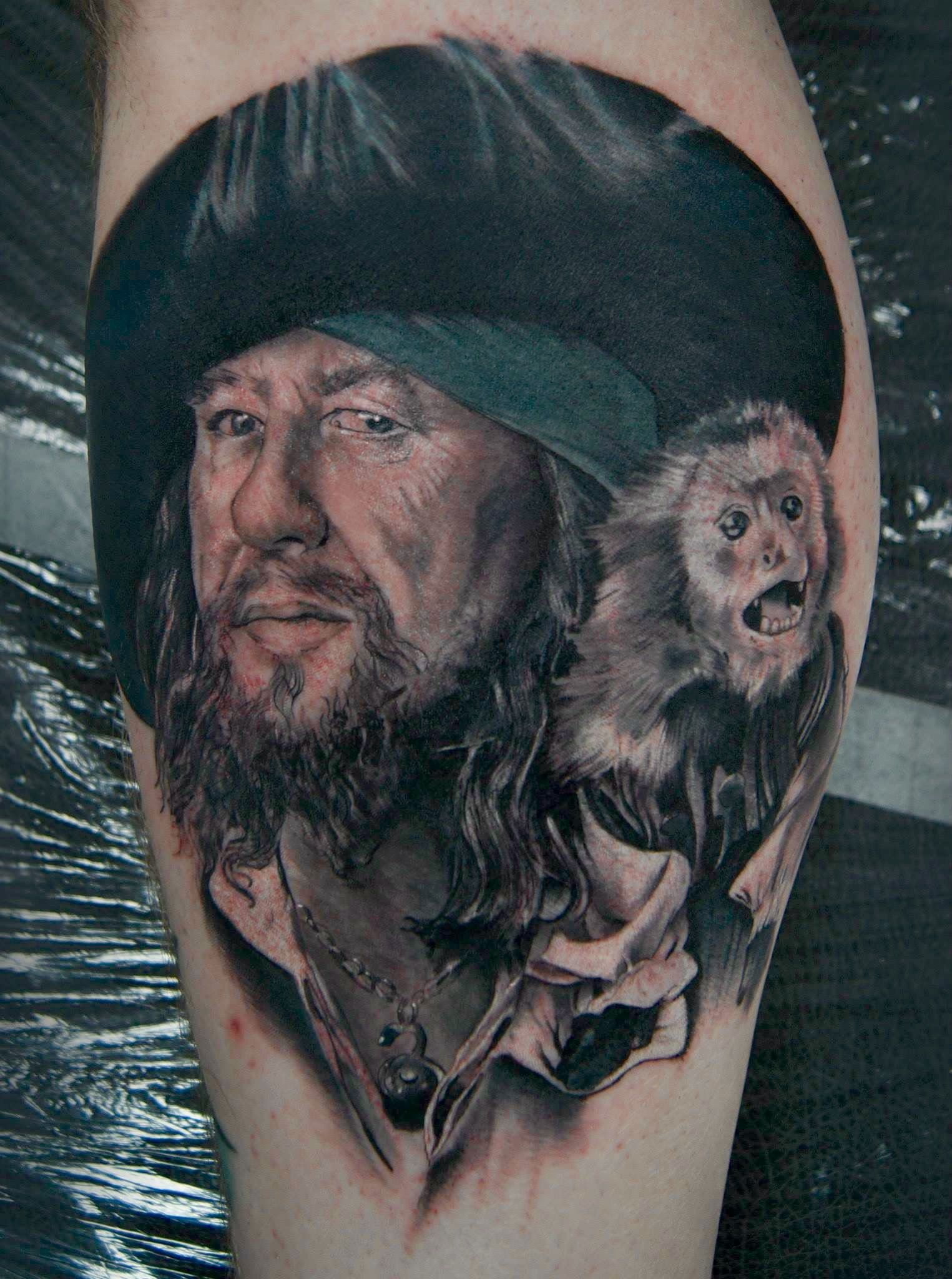 Caribbean Tattoo Pirate