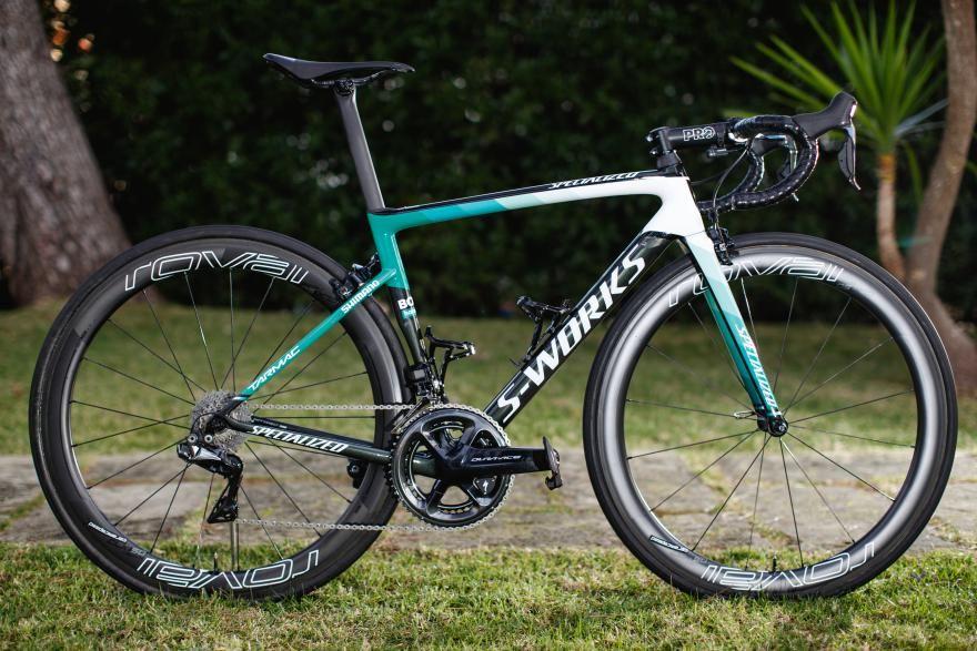 90e7ed53b Pro Bike  New colours for BORA – hansgrohe s Specialized Tarmac SL6 2018  race bike