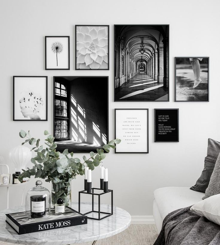 Photo of 3 most common mistakes when creating a gallery wall