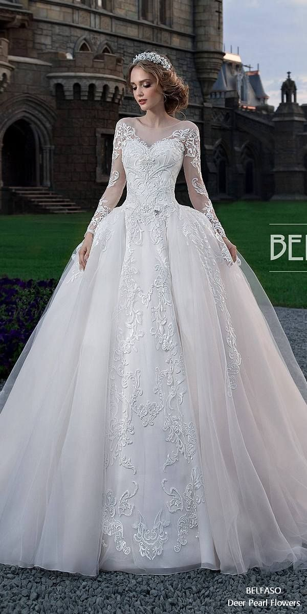 Long Sleeves Wedding Dresses from BELFASO | Pinterest | Muslim ...