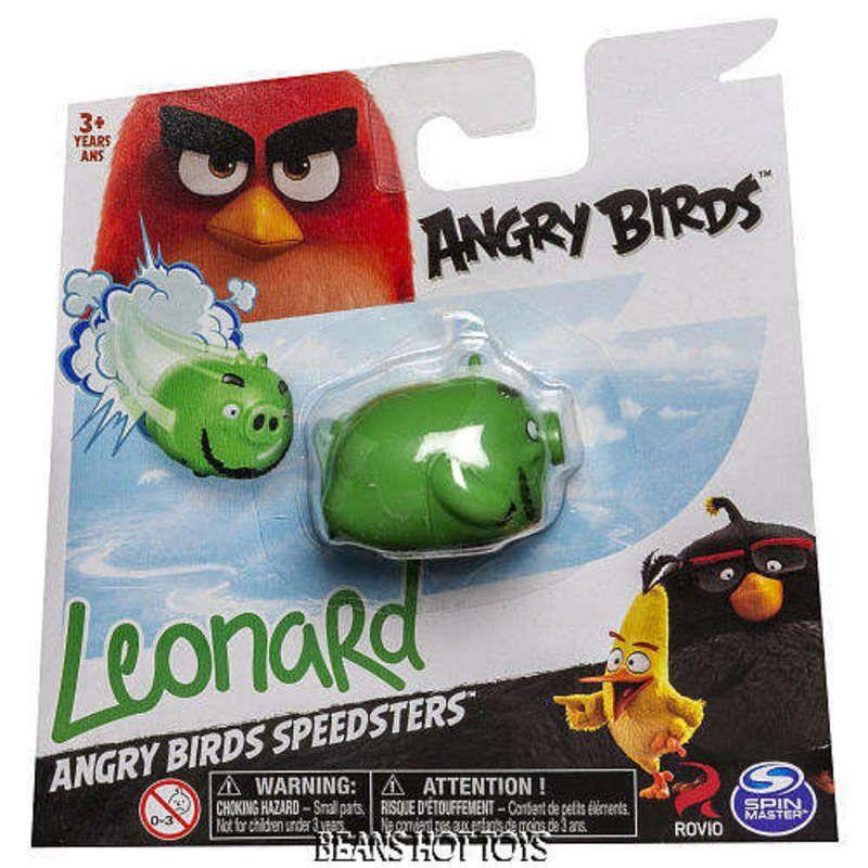 2016 *Angry Birds Speedsters Figure LEONARD NEW